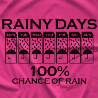 Rainy Days Okada T-shirt