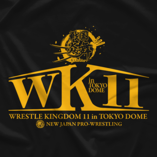 Wrestle Kingdom 11 Dome T-shirt