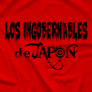 New Japan Pro Wrestling Los Ingobernables De Japon Red T-shirt