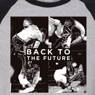 Back to the Future Baseball Tee - Kushida