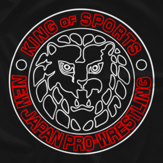 NJPW Lion Mark JPN (Double-Sided)
