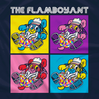 Juice Robinson THE FLAMBOYANT Tee