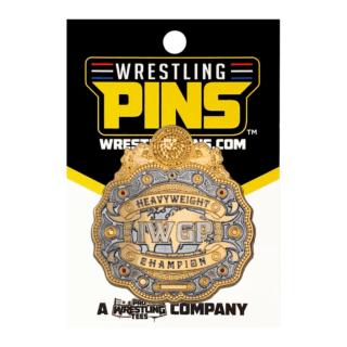 NJPW - IWGP Heavyweight Championship Center Plate Belt Wrestling Pin