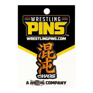 NJPW - Chaos Orange Wrestling Pin