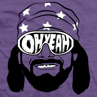 Macho Man Savage Face T-shirt