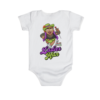 Godfather - Babyface Onesie (Avail in 2 colors)