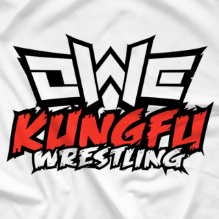 OWE - Kung Fu Wrestling White (Double-Sided)