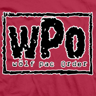 Wolf Pac Order T-shirt