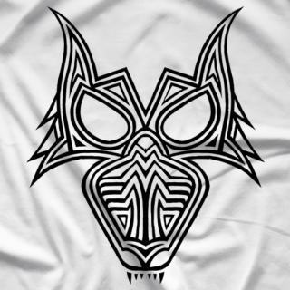 PJ Black Lucha Wolf T-shirt