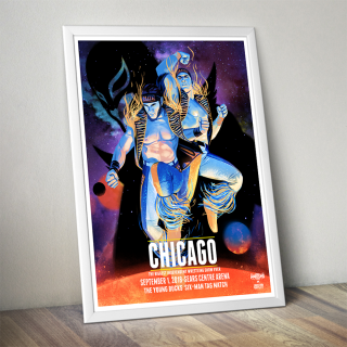 Young Bucks Chicago Poster (Limited Edition 200 Prints)