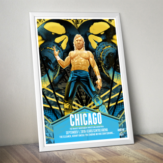 Kenny Omega Chicago Poster (Limited Edition 200 Prints)