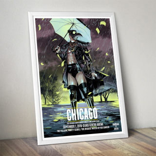 Marty Scurll Chicago Poster (Limited Edition 200 Prints)