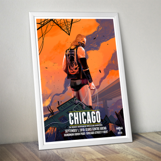 Hangman Page Chicago Poster (Limited Edition 200 Prints)