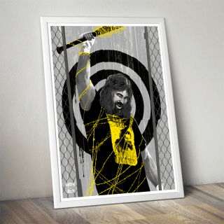Mick Foley Poster (Limited Edition 200 Prints)