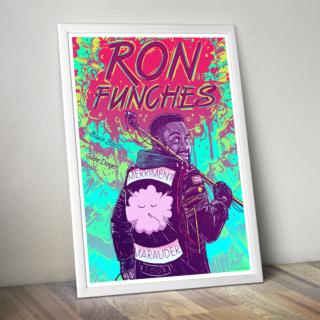 Ron Funches Merriment Maurauder Poster 1