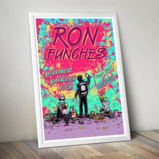 Ron Funches Merriment Maurauder Poster 2