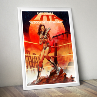 "Amy Dumas ""Queen of Extreme""  Poster (Limited Edition 200 Prints)"