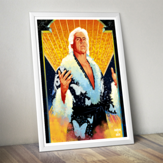 Ric Flair Poster (Limited Edition 200 Prints)