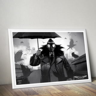Marty Scurll Poster (Limited Edition 200 Prints)