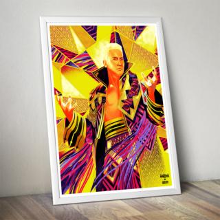 "Kazuchika Okada ""Rainmaker"" Poster (Limited Edition 200 Prints)"