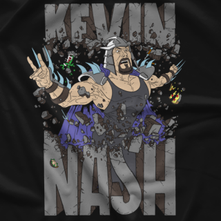 Powerbomb Kevin Nash Shreds T-shirt