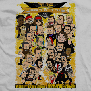 PRIME Wrestlelution 6 Animated Roster