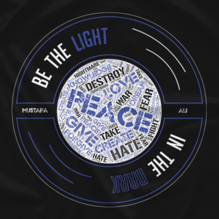 Be The Light In The Dark (Blue Edition)