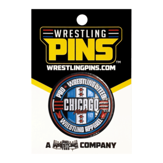 Pro Wrestling Tees - All In Weekend Wrestling Pin