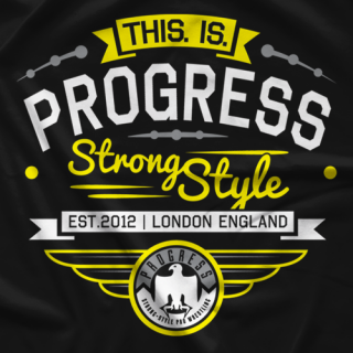 PROGRESS Wrestling Collegiate T-Shirt