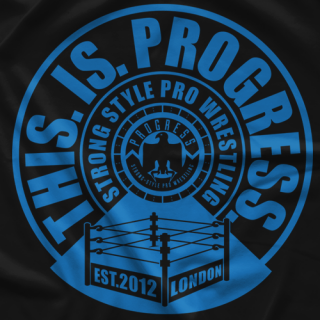 PROGRESS Wrestling Bullseye T-Shirt