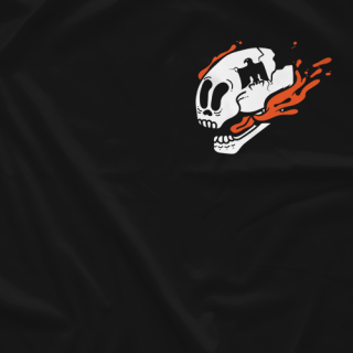 Orange Soda Skull (Double-Sided)