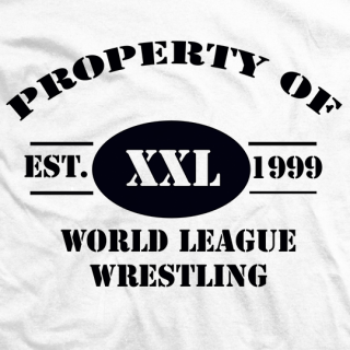 Property of World League Wrestling T-shirt