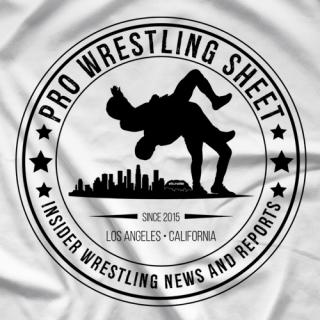 Pro Wrestling Sheet Logo T-shirt