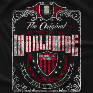 Pro Wrestling Tees The Original T-shirt