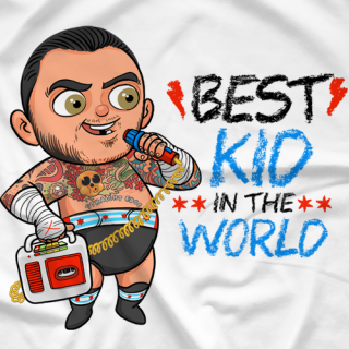 CM Punk - Babyface Kid's Clothing