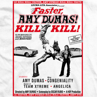 Amy Dumas Amy! Kill! Kill! T-shirt