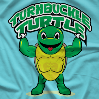 Turnbuckle Turtle T-shirt