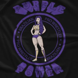 Raquel Purple Power T-shirt