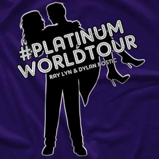 Ray Lyn #PlatinumWorldTour T-shirt