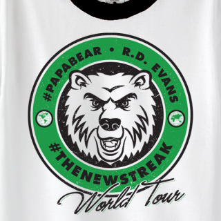 R.D. Evans World Tour T-shirt