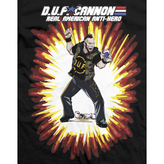 Arik Cannon Real American Anti-Hero T-shirt