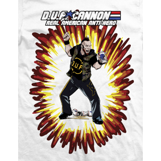 Arik Cannon Real American Anti-Hero T-shirt
