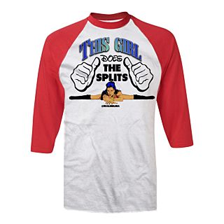 Melina Girl Baseball T-shirt