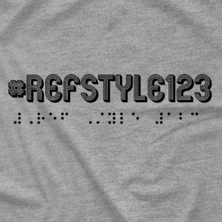 #Refstyle123