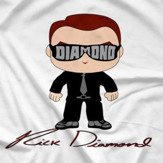 Rick Diamond Cartoon T-shirt