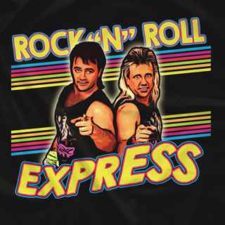 Rock n Roll Express 2018 colorway