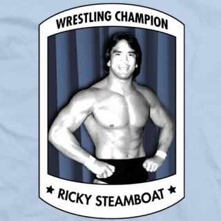 Ricky Steamboat Champion T-shirt