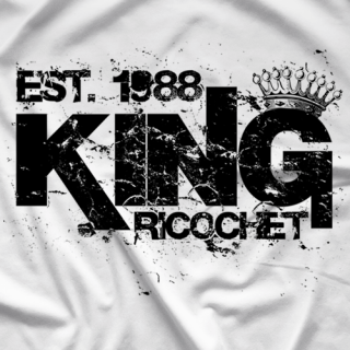 Ricochet King Ricochet White T-shirt