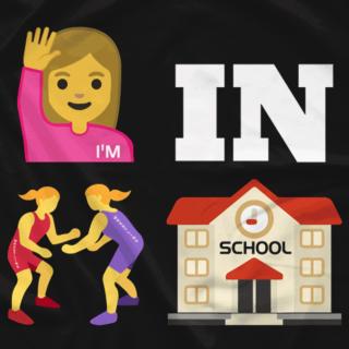 I'm IN Wrestling School (Female)