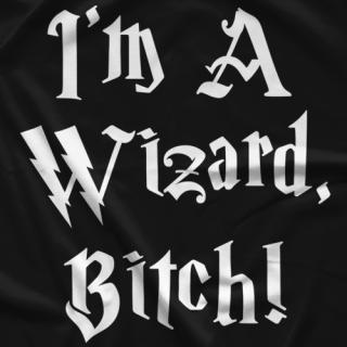 Riker I'm A Wizard T-shirt